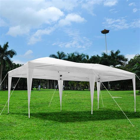 outdoor canopy tent 10 x 20 outdoor ez pop up canopy wedding