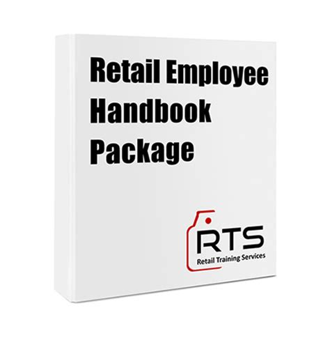 Retail Employee Handbook Package  Retail Training Services
