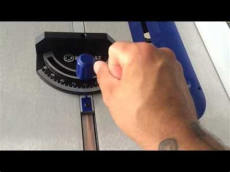 kobalt table saw review kobalt kt1015 10 quot portable table saw review youtube