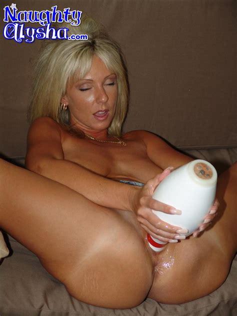Tanned Blonde Milf Wearing Dark Top And Den Xxx Dessert Picture 7