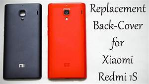 Replacement Back Cover For Xiaomi Redmi 1s  Red