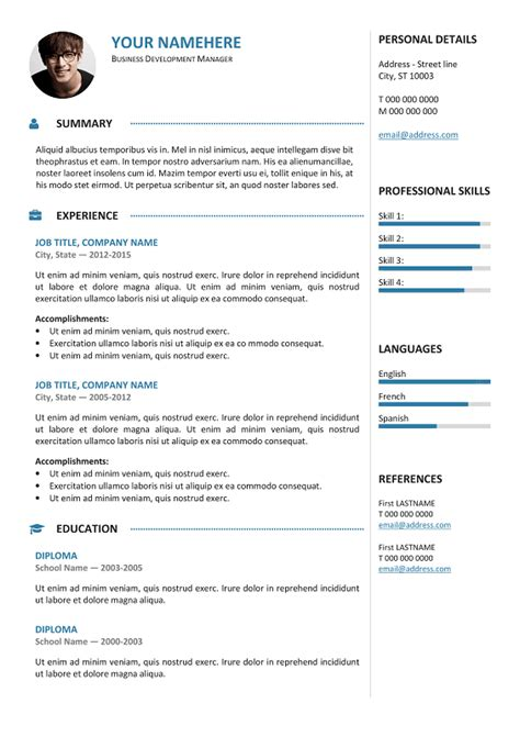 gastown  professional resume template