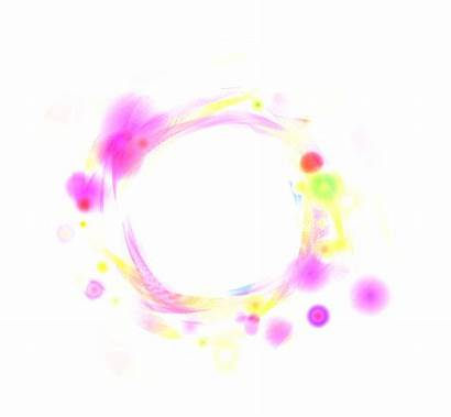 Effects Photoshop Circle Effect Photoscape Pink Clipart