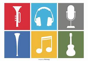 Music Icon Set - Download Free Vector Art, Stock Graphics ...