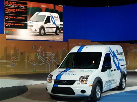 Ford Transit Connect Eletric At Chicago Auto Show Photo