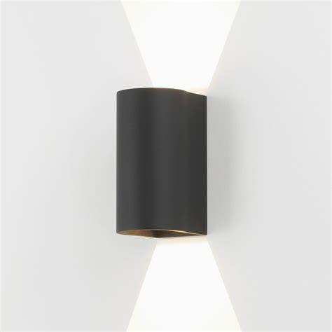 astro lighting 7946 dunbar 160 led up down exterior wall light black