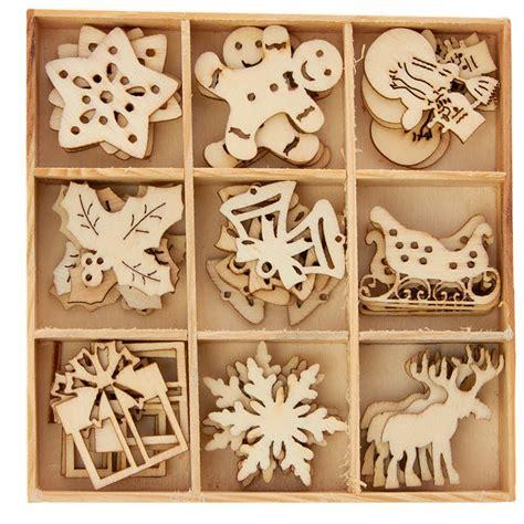 unfinished wood laser cut christmas cutouts wood cutouts