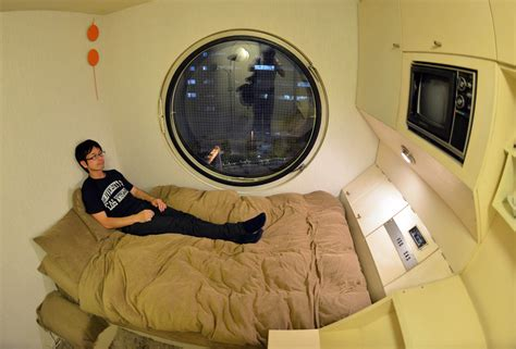 tokyos tiny capsules  architectural flair  japan times