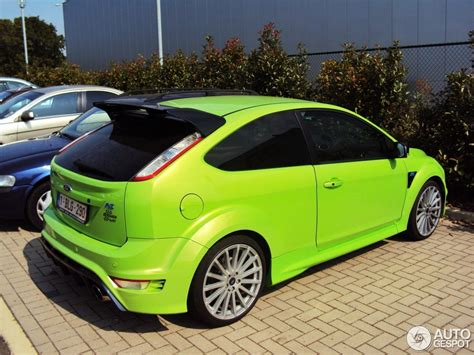ford tuning ford focus rs 2009 berghen tuning 10 september 2012