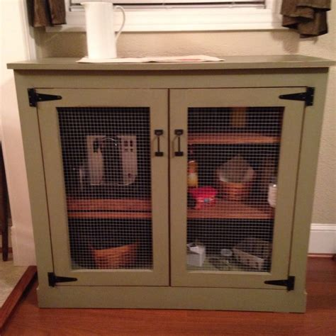 diy farmhouse coffee cabinet shanty  chic