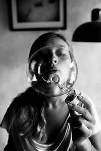bubble | blow bubbles | black white | photography | fun ...
