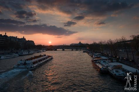 Bateau Mouche Le Soir by Banks Of The Seine France In Photos