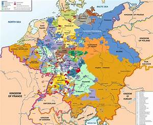 political history - Why was the shape of German states pre ...