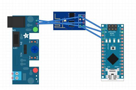 linking arduino nano with esp8266 wifi module arduino stack exchange
