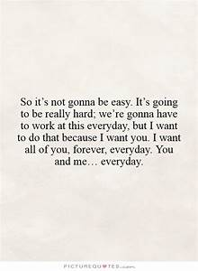 It S Not Easy Quotes. QuotesGram