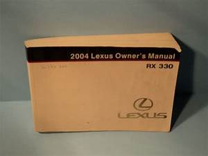 Sell 04 2004 Lexus Rx330 Owners Manual Motorcycle In Madison  Wisconsin  United States  For Us