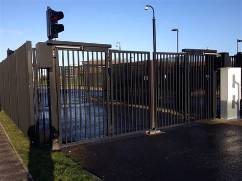 security gates  industrial  build installation