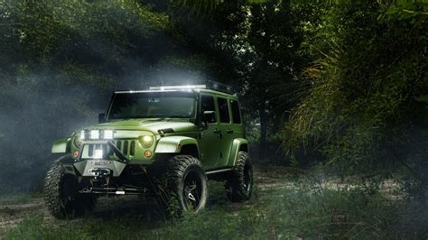 Jeep Wrangler Unlimited 4k Wallpapers by 50 Jeep 4k Wallpapers At Wallpaperbro