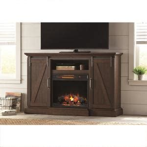 electric fireplace tv stand home depot home decorators collection chestnut hill 56 in tv stand