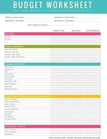 Division Practice Worksheets Household Budget Worksheet Printable Tecnologialinstante