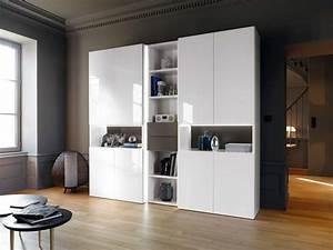 Meuble Haut Salon : meuble salon haut meubles k ribin ~ Teatrodelosmanantiales.com Idées de Décoration