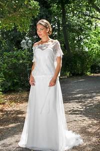 Robe Boheme Courte : robe de mari e boh me manches courtes en dentelle ~ Melissatoandfro.com Idées de Décoration