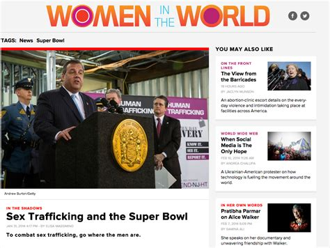 The Daily Beast Sex Trafficking And The Super Bowl