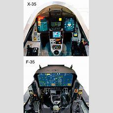 Comparoson  X35 To F35 Glass Cockpit Display  Uav  Glass Cockpit、military Aircraft、flight