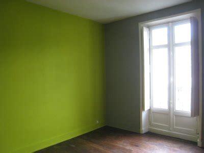 peinture chambre vert et gris chambre denfant fille moderne