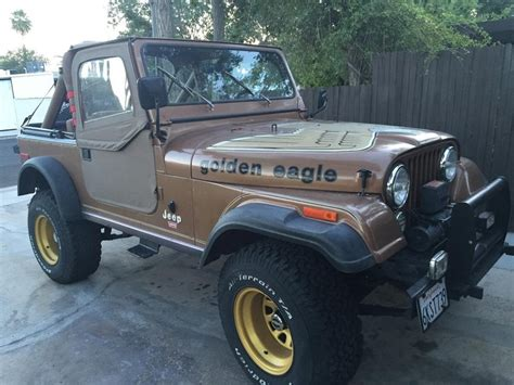 jeep eagle for sale 1979 jeep cj7 golden eagle for sale 1852786 hemmings