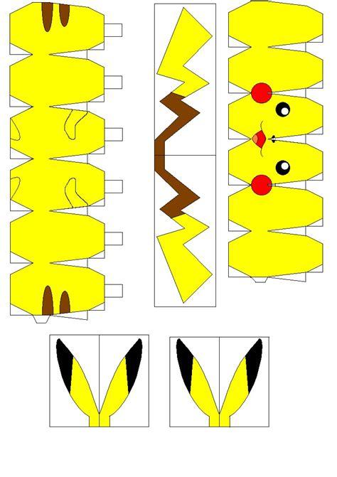 printable pokemon papercraft printable papercrafts