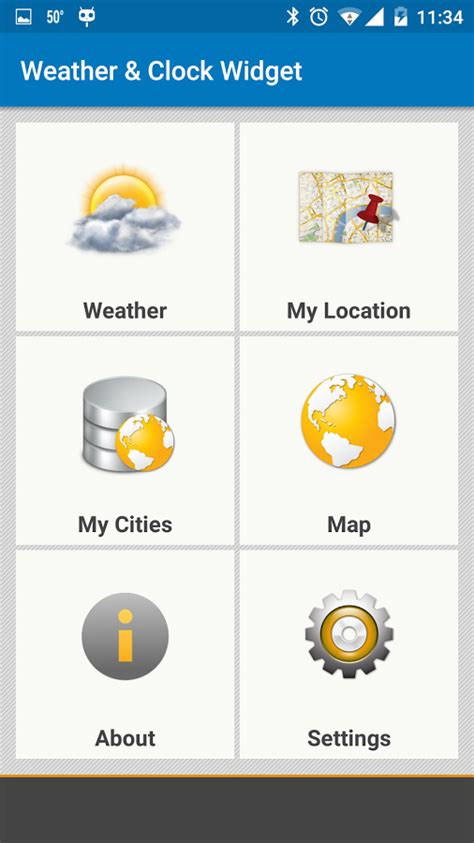 weather and clock widget for android free weather clock widget for android ad free android apps