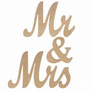 mr and mrs wedding signs for top table decorations mr and With mr and mrs decorative letters