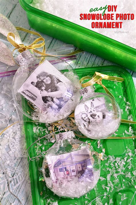 mardi gras gifts snowglobe photo ornament diy tutorial tidymom