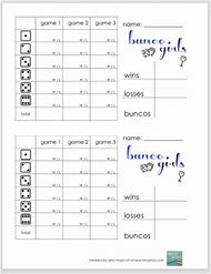 best 25 ideas about bunco score sheet template find what you ll love