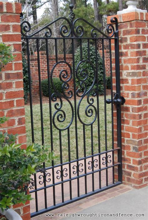 fence gate iron iron ornamental wrought 187 fencing
