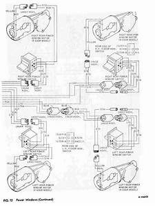Power Windows Schematic Diagram Of 1967