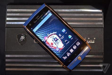 lamborghini smartphone  ridiculous  verge