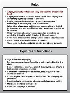 Rules Etiquette Guidelines Tennis Pinterest
