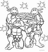 Coloring Pages Nickelodeon Tmnt Printable sketch template