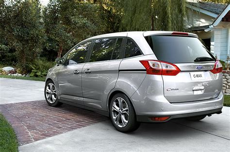 Ford Minivan by 2012 Ford C Max Sourced Minivan Detailed Ahead Of