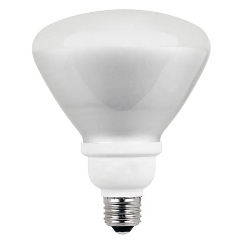 shop utilitech 2 pack 75 w equivalent soft white br40 cfl