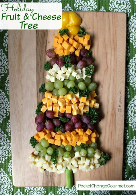 christmas appetizer tree board appetizers fruit and cheese tree pocket change gourmet