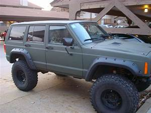 The spray/rattle can paint job XJ Army post up Page 2