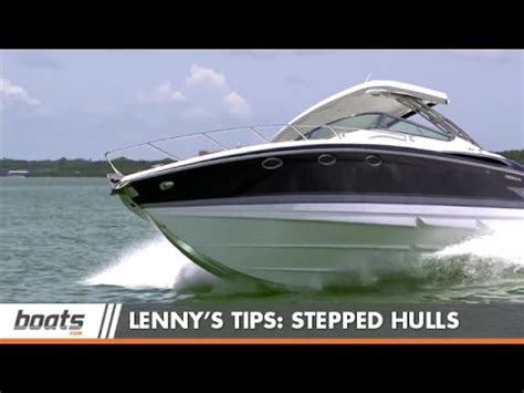 Boat Hull Steps by Boating Tips Stepped Hulls