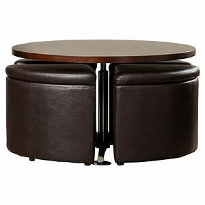 august grove harriet coffee table with ottomans reviews With wayfair ottoman coffee table