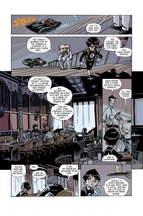 The Umbrella Academy: Hotel Oblivion #1 :: Profile :: Dark ...