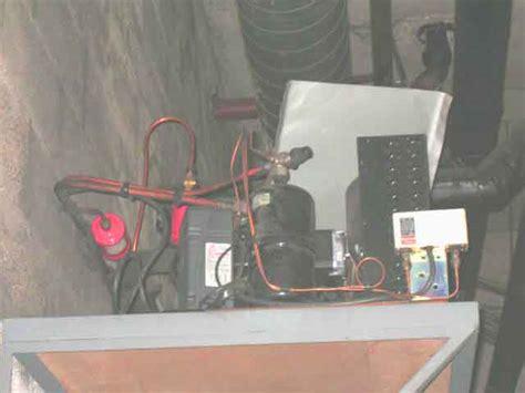 moteur pour chambre froide a condensateur a air haute