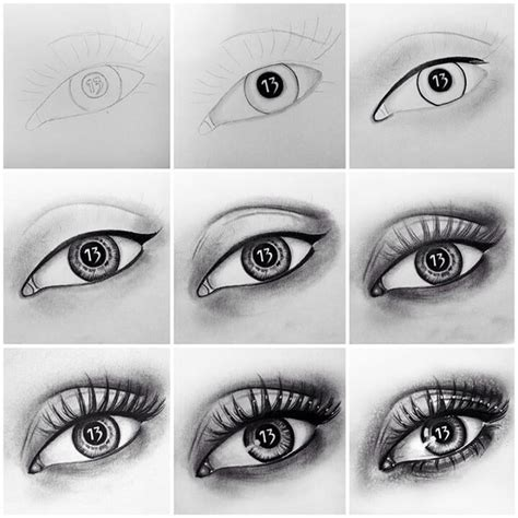 How To Draw A Real Eye Step By Step Trusper