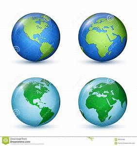 Earth planet. World Map stock vector. Illustration of ...